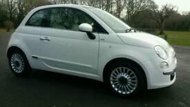 Fiat 500 1.2 lounge 2011, 28,000 miles