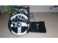 XBOX EV8 Racing Wheel & Pedals