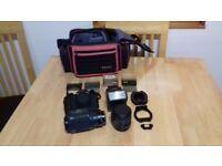 Canon T80 camera
