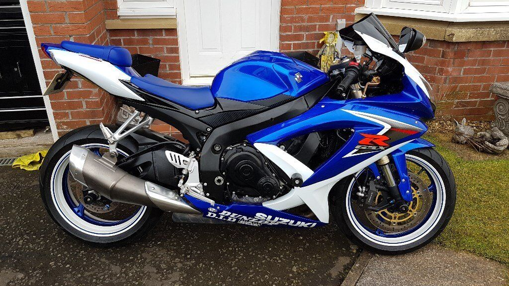 2008 Suzuki Gsxr 600 K8 1 Year Mot Just Been Serviced