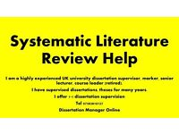 Systematic Literature Review Help