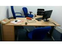 Office furniture, chairs, office table, filling cabinets,