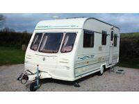 Avondale Dart 510-5 Caravan - 5 Berth Model - Twin Lounges - Motor Movers