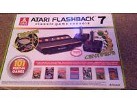 Atari flashback 7 as new used once