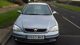 Vauxhall Astra 03 plate