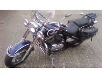 Kawasaki vn800 cruiser classic 2002 reg