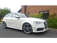 "**2014 Audi A3 Sport 1.4 TSI (S3 Replica, 19"" Alloys, Sat Nav)**"