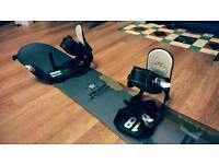 Palmer carbon snowboard incl bindings