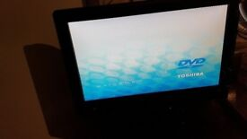"TOSHIBA 19"" HD LCD TV with Built in DVD Player plus stand model 19DV615DB"