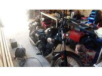 Yamaha Virago 125 125cc motorbike