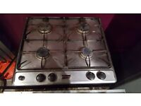 Stoves gas hob and oven