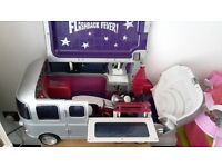 bratzs dolls house bus dolls and loads of extras