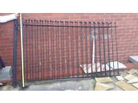 Wrought iron gates/fencing