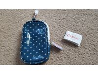 CATH KIDSTON BLUE & WHITE SPOT GADGET CASE - BRAND NEW WITH TAGS
