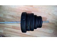 6ft Barbell / Weights bar