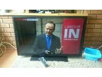 Toshiba 40 inch LED FullHD TV with USB, AMR processor and Freeview HD