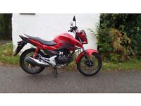 2016 Honda CB125F learner legal commmuter