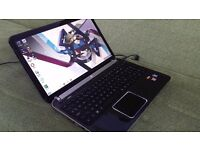"HP Pavilion dv6-6b08sa Gaming 15.6""LED Notebook Laptop Pc - AMD Fusion A6-3410MX 1.60 GHz"