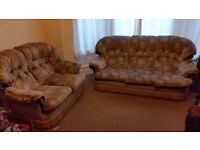 3 seat and 2 seat sofa for free