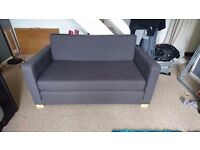 Sofa bed / charcoal colour