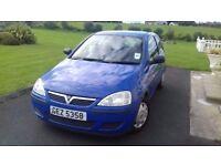 Vauxhall Corsa 2006 **low miles**