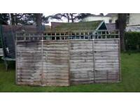Fence panels x 6ft by 6ft