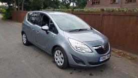 2011 Vauxhall Meriva 1.4 Petrol 89000 miles Silver Manual MPV Mot