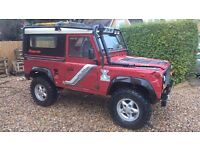 F reg Landrover 90 fitted with 300 tdi engine, gearbox and axles (from P reg Disco)