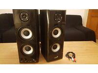 Genius PC speakers in mint condition.