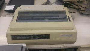 Okidata Microline 395 24-PIN Dot-Matrix Impact Printer GE8286A PARALLEL