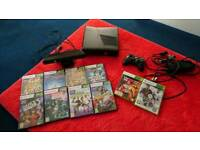 Xbox 360 with konnect and games