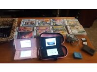 2x nintendo ds with games