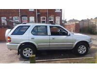Vauxhall Frontera 2.2 DTI 4x4 6month MOT