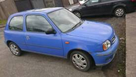 Nissan Micra 1.0 automatic spares or repair