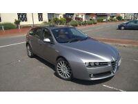 2008 Alfa Romeo 159 Sportwagon 2.4 Diesel, 6 Speed Manual, MOT 01-18, FSH, Leather, Sunroof, loaded