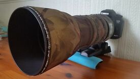 SIGMA TELEPHOTO LENSE 150-500MM (CANON FIT)