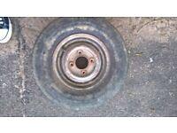 Mini wheel tyre