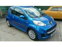 Peugeot 107 only 61.000 miles
