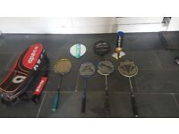 Badminton equipment - Rackets - Racquets and carry bag