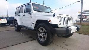 2016 Jeep Wrangler Unlimited Sahara LIFT THIS JEEP!!