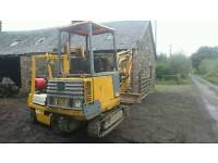 Wanted mini digger running or not
