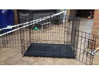 Used Pet Brand dog crate. ..... .