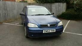 2002 Vauxhall Astra Club 1.6