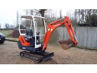 Kabota KX36-3 1.5 tonne Mini Excavator 2010 Great machine