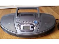 Panasonic RX-ES27 Power Blaster Portable Stereo (CD/Tape/Radio). Excellent condition.