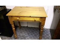 Solid Pine Hall or Console Table