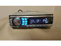 CAR HEAD UNIT ALPINE CDE-9850RI MP3 CD PLAYER IPOD RREADY 50 X 4 AMPLIFIER AMP STEREO RADIO