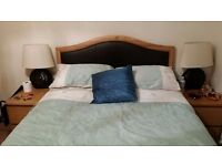Used double bed with mattress