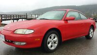 1994 Mazda MX6 Mystere 2 door coupe in mint condition.