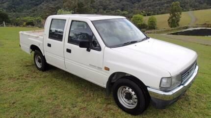 Holden Rodeo Ute TF dual cab 4cyl petrol 4ZE1 auto 1996 2wd Cedar Creek Gold Coast North Preview